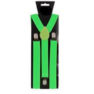 Neon groene bretels verstelbaar