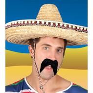Nep zwarte snor voor Mexicaan of bandiet