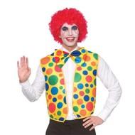 Clown vestje met strik