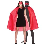 Super Hero Cape met masker in rood