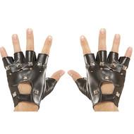 Vingerloze handschoenen mat spijkers