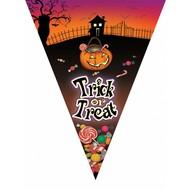 Vlaggenlijn Halloween Snoep of je leven