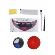 Horror clown make up-set