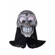 Skelet masker met kap
