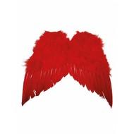 Duivel vleugels rood