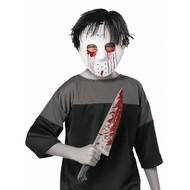 Masker Jason met nep mes