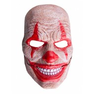 Masker horror clown met bewegende mond