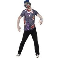 Zombie school jongen pak