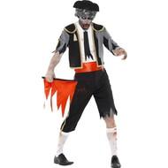 Zombie stierenvechter kostuum Torero