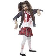 Zombie School meisje kostuum