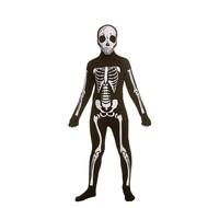 Skeleton second skin kostuum kids