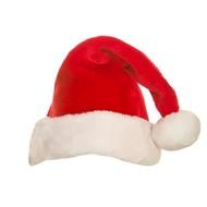 Kerst muts met bontje