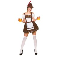 Beiers biermeisje kostuum