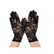 Handschoenen zwart lang