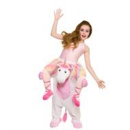 Gedragen door unicorn pak kids