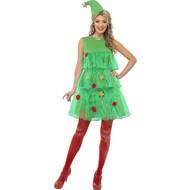 Kerstboom jurkje dames