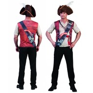 3D T-shirt Piraat
