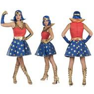 Superwoman jurk voor dames