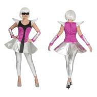 Lady Ga Ga kostuum Space