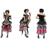 Saloon jurk sexy