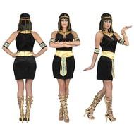 Egyptische Cleopatra jurk zwart