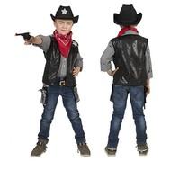 Cowboy vestje voor jongens