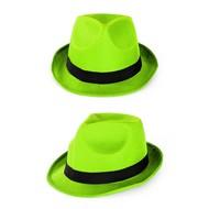 Gleufhoedje populair neon groen