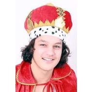 Koningskroon stof one size