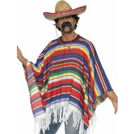 Mexicaanse poncho luxe