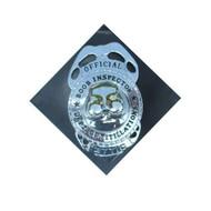 Boob inspector badge+speld