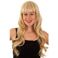 Pruik MILA blond met highlights