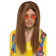 Pruik hippy John