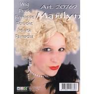 Pruik Marilyn Monroe blond