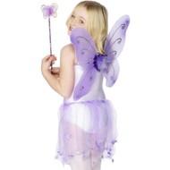Verkleedset Vlinder Meike paars