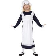 Mooi Victoriaans arme meisje kostuum