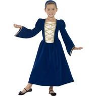Tudor prinsessen kostuum meiden
