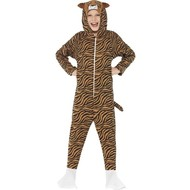 Bruine tijger pak kids