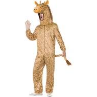 Giraf kostuum groot hoofd