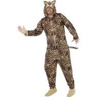 Luipaard pak onesie