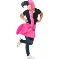 Flamingo kostuum roze