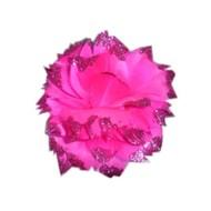 Roze bloem met glitters