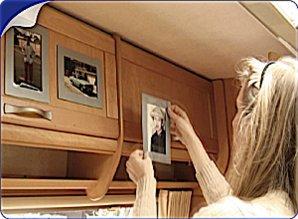 ZILVER GRIJZE Her-Plakbare Fotolijstjes 4 x set 2