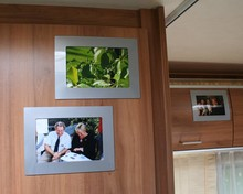 ZILVER GRIJZE Her-Plakbare Fotolijstjes 6 x set2 lijstjes