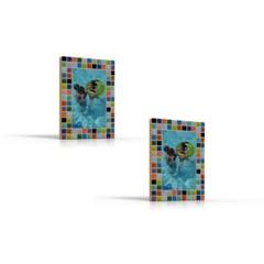 Cristallo Mozaiek pakket set/2 Fotolijstjes Mozaiek