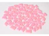 Cristallo Kunststof mozaiek-steentjes ca. 500 gram ROZE