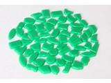 Cristallo Kunststof mozaiek-steentjes ca. 500 gram DONKERGROEN