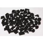 Cristallo Kunststof mozaiek-steentjes ca. 500 gram ZWART