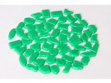 Cristallo Kunststof mozaiek-steentjes ca. 70 gram DONKERGROEN
