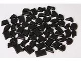 Cristallo Kunststof mozaiek-steentjes ca. 70 gram ZWART