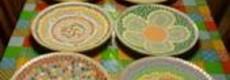Kunststof mozaieksteentjes 70 gr.